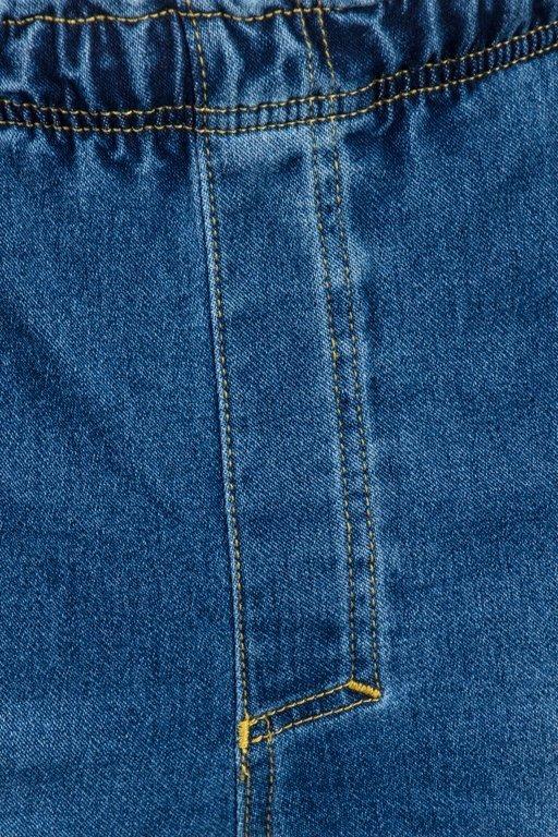STOPROCENT PANTS JEANS JOGGER STITCH BLUE
