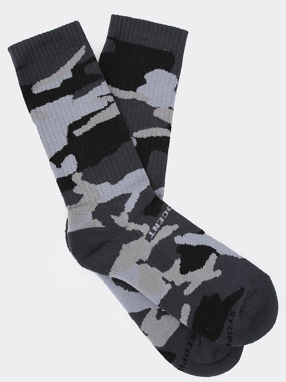 STOPROCENT SOCKS LONG MORO GREY