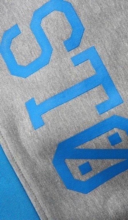 STOPROCENT SPODENKI DRESOWE KRÓTKIE BASKET MELANGE-BLUE