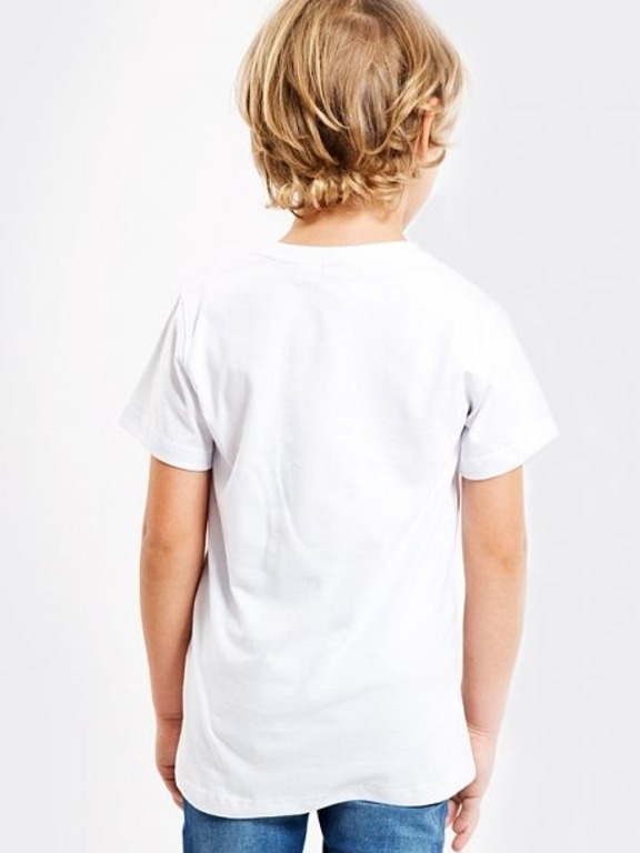 STOPROCENT T-SHIRT KIDS SMILE WHITE