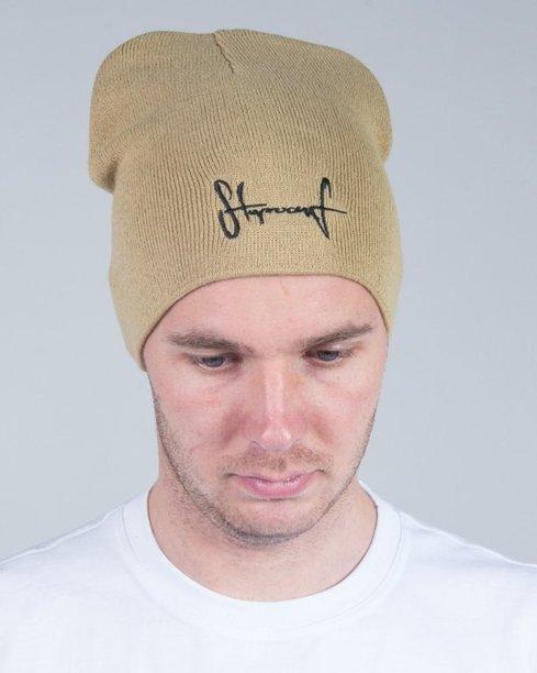 STOPROCENT WINTER CAP SMALLTAG16 BEIGE