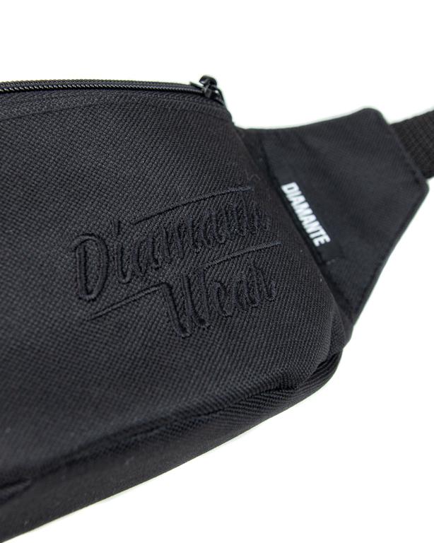 Saszetka Diamante Wear Diamante Small Logo Black-Black