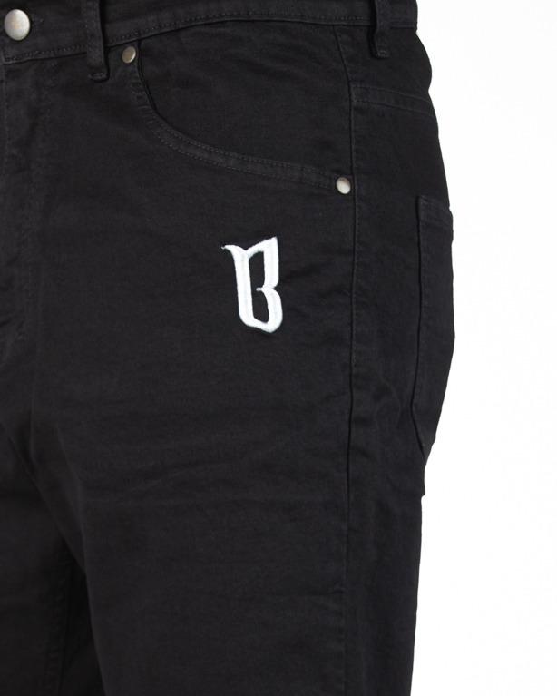 Spodenki Bor Jeans Classic Borcrew Black