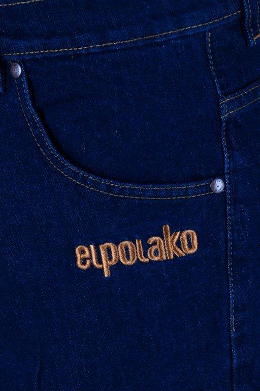 Spodenki El Polako Jeansowe Classic Dark