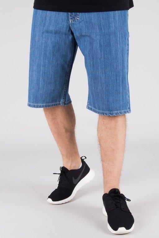 Spodenki Mass Jeansowe Regular Fit Base Light