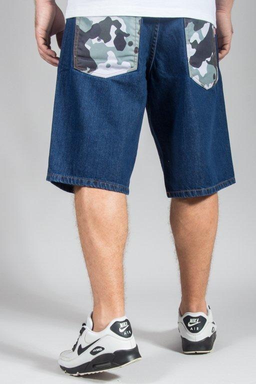 Spodenki SSG Jeansowe Regular Moro Pocket Medium