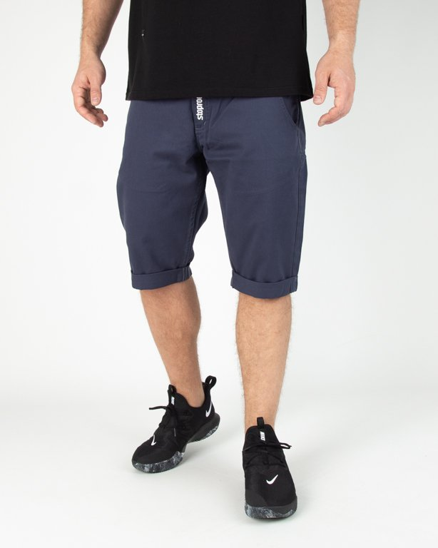 Spodenki Stoprocent Chinos Blue