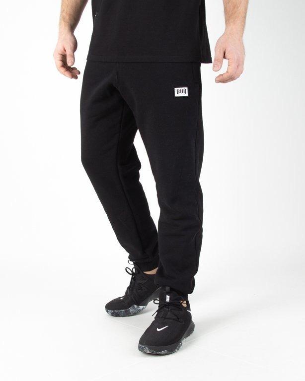 Spodnie Bor Dresowe Bor New Black