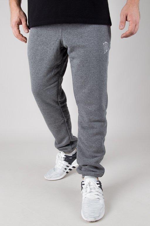 Spodnie Bor Dresowe Borcrew Outline Grey