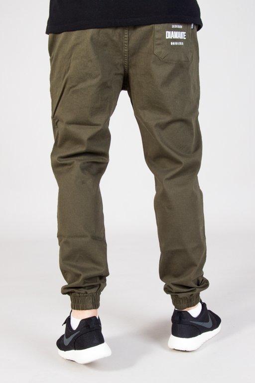 Spodnie Diamante Wear Chino Jogger Rm Classic Khaki