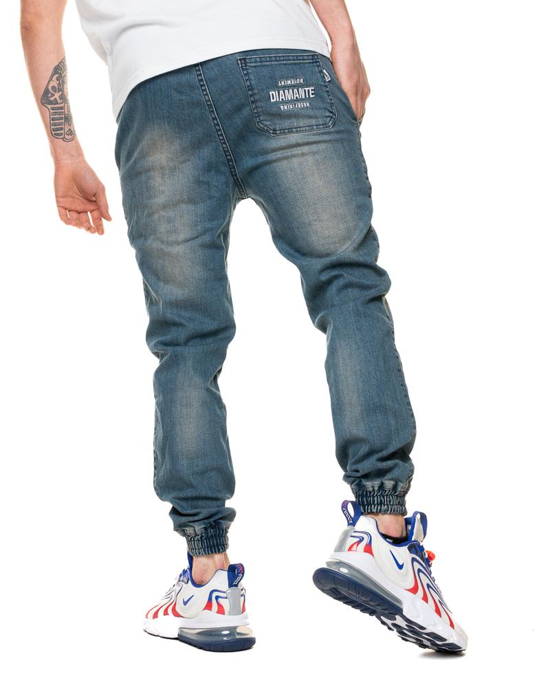 Spodnie Diamante Wear Jeans Jogger Rm Paint Light