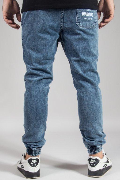 Spodnie Diamante Wear Jeansy Jogger Rm Marmur
