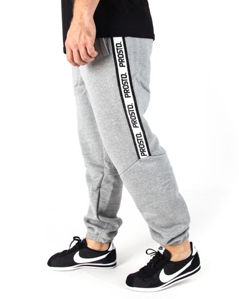 Spodnie Dresowe Prosto Tapecut Grey
