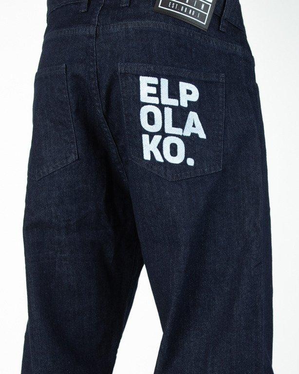Spodnie El Polako Jeansowe Baggy Ok Dark