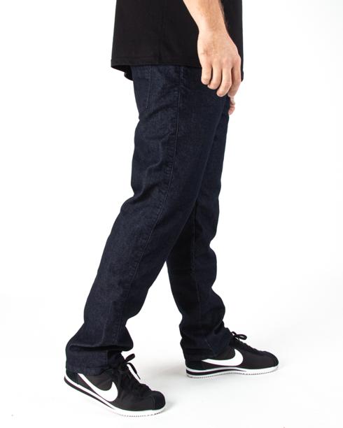 Spodnie Jeans Moro Blank Pocket Reular Ciemne Pranie Jeans