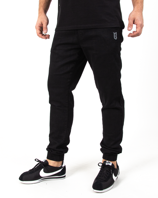 Spodnie Jogger Bor Fit Black Jeans