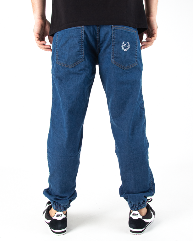 Spodnie Jogger Moro Paris Laur Pocket Jasne Pranie Jeans