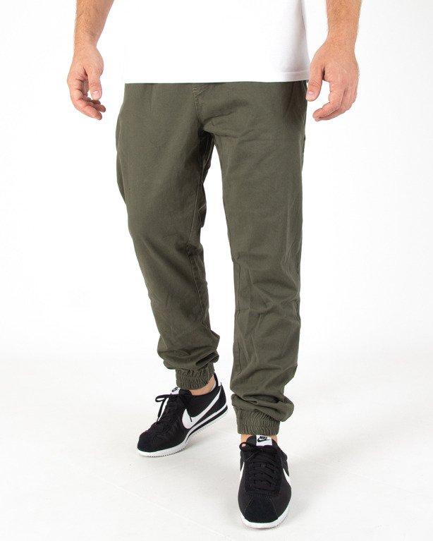 Spodnie Jogger Stoprocent Chino Classic Green