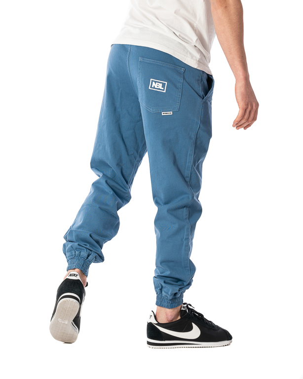 Spodnie Materiałowe Jogger New Bad Line Icon Niebieskie