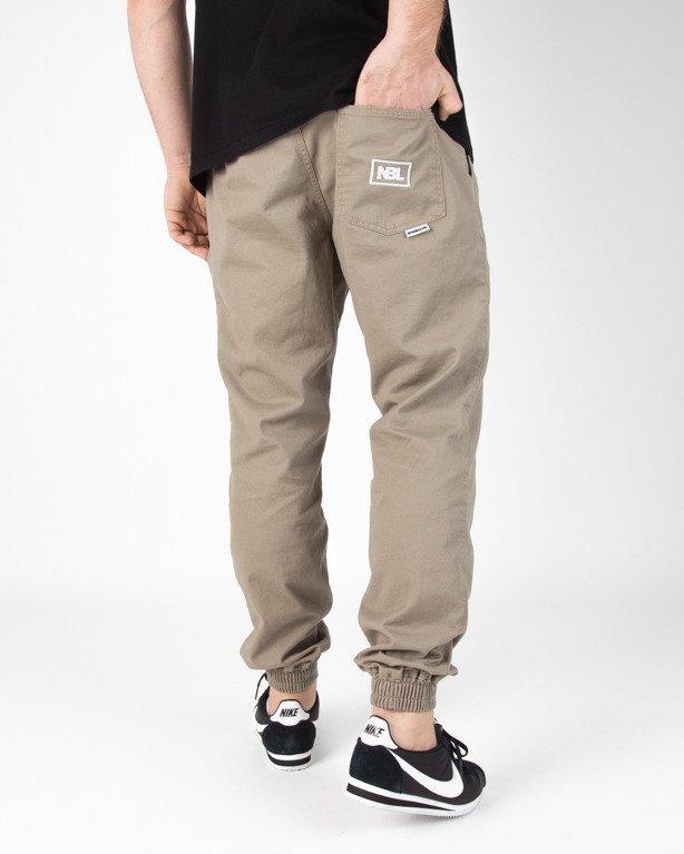 Spodnie New Bad Line Chino Jogger Icon Beige