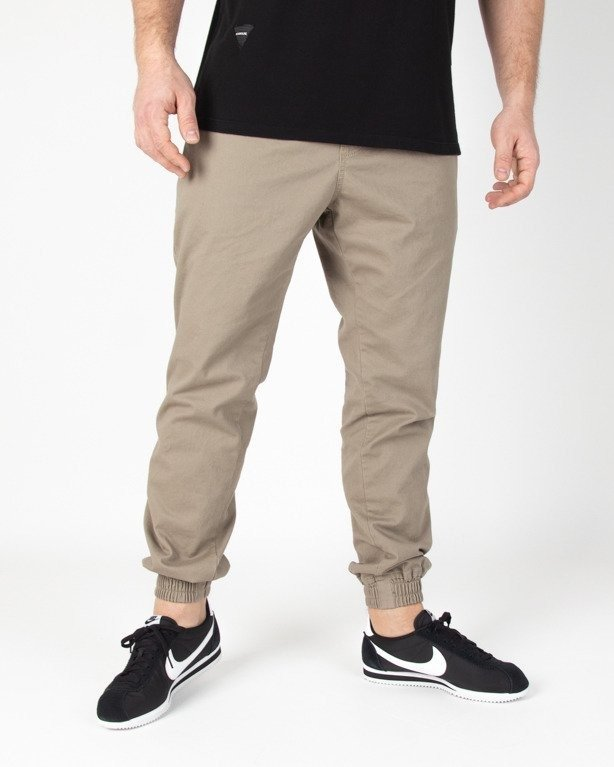 Spodnie New Bad Line Chino Jogger Icon Beige