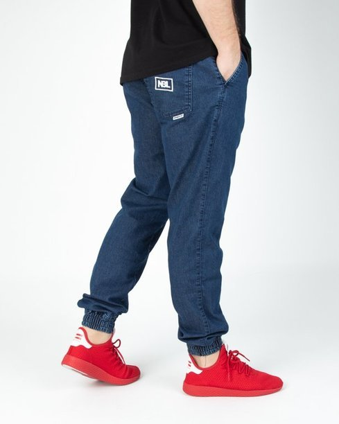 Spodnie New Bad Line Jeansy Jogger Icon Dark
