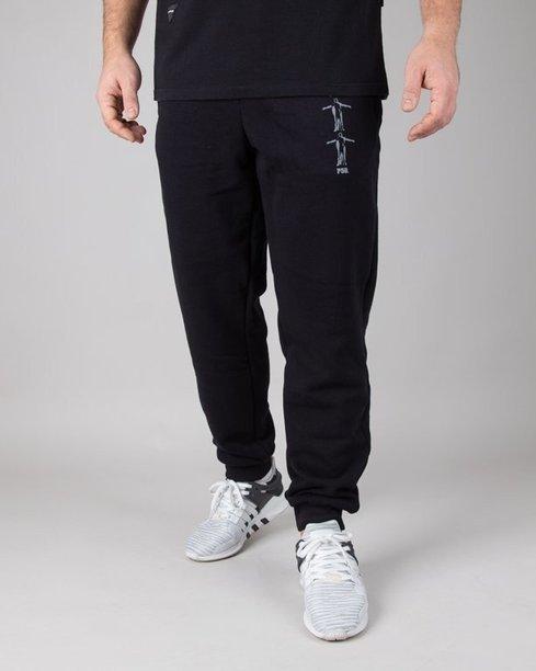 Spodnie Dudek P56 Dresowe Mc Black
