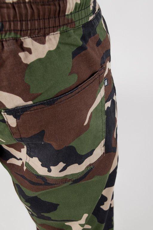Spodnie SSG Chino Skinny Guma Camo