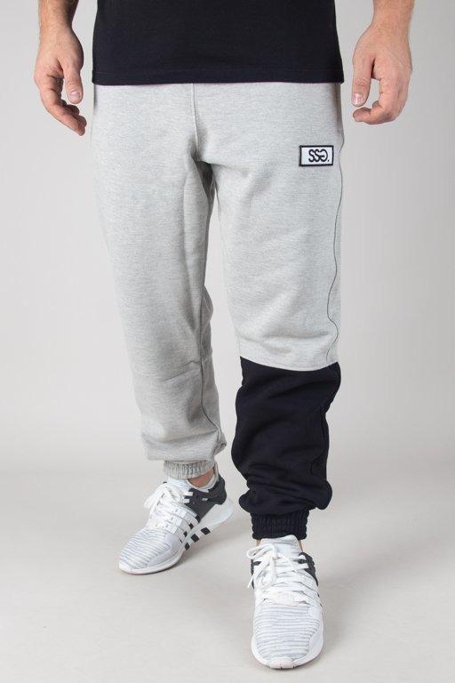 Spodnie SSG Dresowe Jogger One Side Big Melange