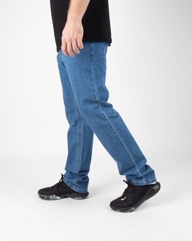 Spodnie SSG Jeans Slim SSG Classic Haft Light