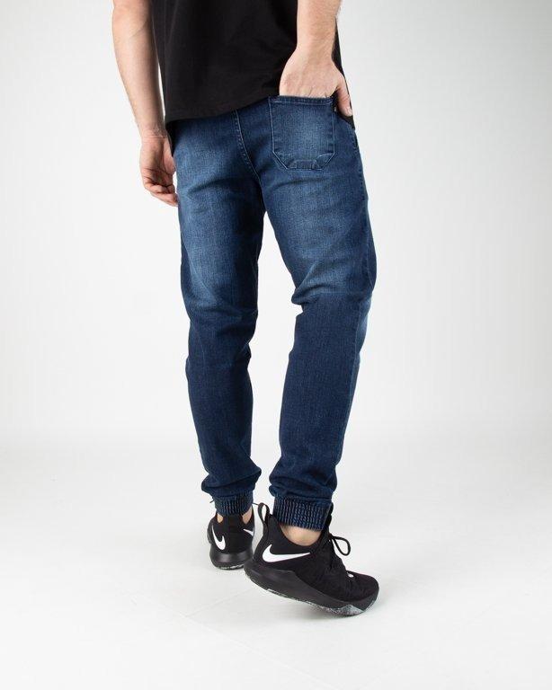 Spodnie SSG Jeansy Jogger Premium Przecierane Medium