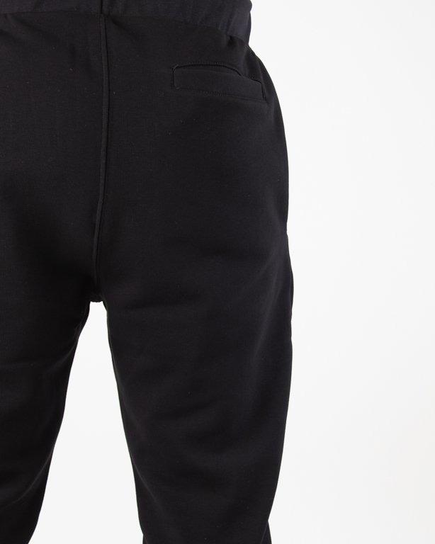 Spodnie Stoprocent Dresowe Kneetag Black