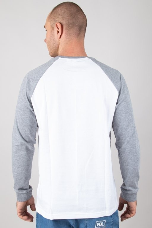 Stoprocent Koszulka Longsleeve Cuttag Melange-White
