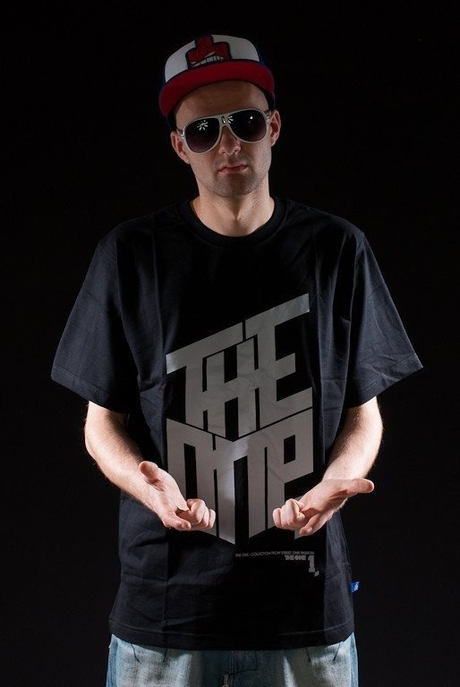 THE ONE KOSZULKA LOGO BLACK