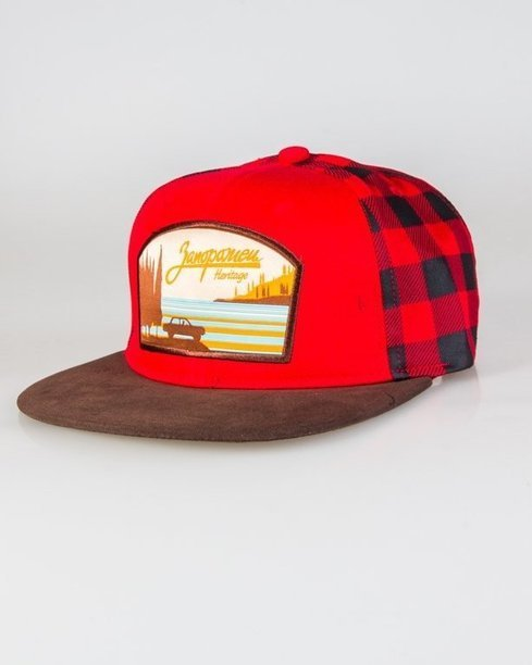 TRUE SPIN SNAPBACK VIEW RED