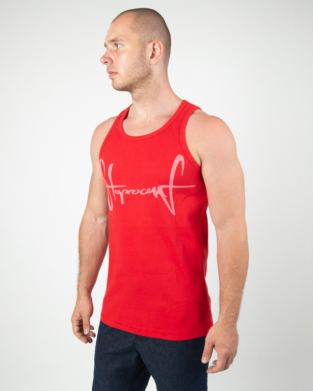 Tanktop Stoprocent Ribb Tag19 Red