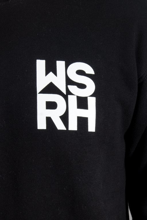 WSRH CREWNECK HOCKEY BLACK