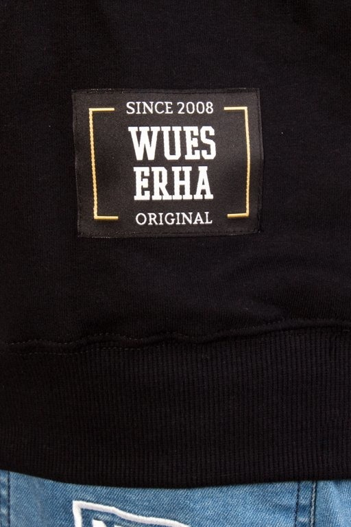 WSRH CREWNECK WUESERHA BLACK