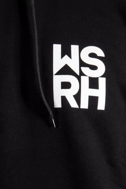 WSRH HOODIE HOCKEY BLACK