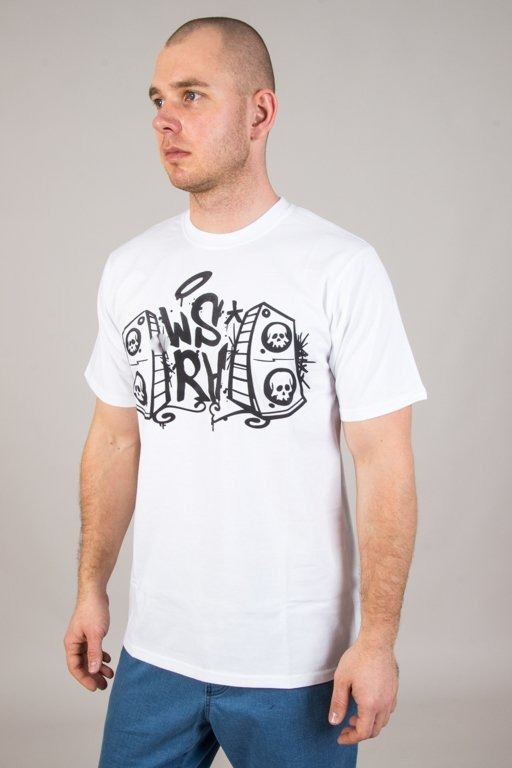 WSRH T-SHIRT CLASSIC LOGO WHITE