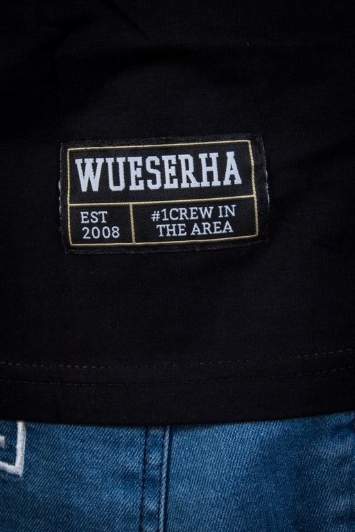 WSRH T-SHIRT WRZUT BLACK