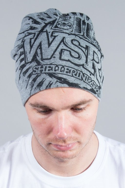 WSRH WINTER CAP BIG SŁOŃCE GREY