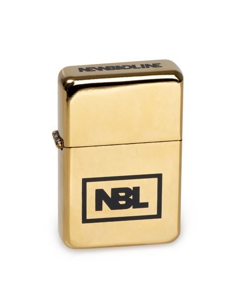 Zapalniczka New Bad Line Icon Gold Flash